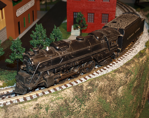 A Lionel O Gauge Post-War steam locomotive from 1952.